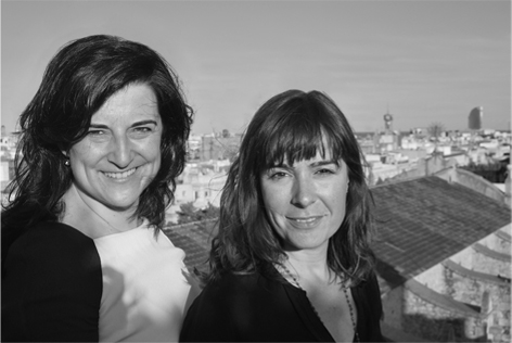 Mònica Galindo y Núria Padrós